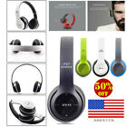 Wireless Headphones Bluetooth Headset Noise Cancelling Over Ear  Microphone USA