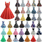 Vintage Rockabilly 1950s 60s Women's Formal Evening Party Pinup Swing Dresses $12.34 USD on eBay