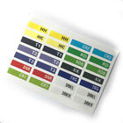 28pcWaterproof Anti-tear Plastic V-Drum Cable Label Sticker Decal For Roland TD