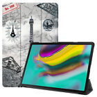 Premium PU Leather Folio Stand Case For Samsung Galaxy Tab A S5e S4 Tablet Cover