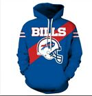 Buffalo Bills Lightweight Hoodie Medium-XXL 2XL Unisex Men Women Football on eBay