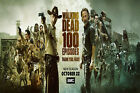 P-12 The Walking Dead Season 8 TV Series 100 Episodes Bunner Poster Wall Canvas