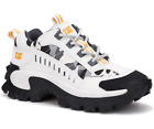 Cat Intruder Lilly White Camo Trainers