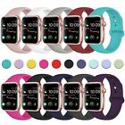 Replacement Silicone Sport Band Strap For Apple Watch iWatch Series 4/3/2/1 image
