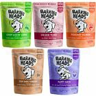 Barking Heads Dog Food Wet Adult Puppy Chicken Lamb Salmon Pouches 300g