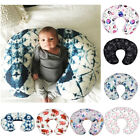 Minky Nursing Newborn Infant Baby Breastfeeding Pillow Cover Nursing Slipcover
