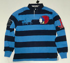 RUGBY POLO RALPH LAUREN POLO LONG SLEEVE SHIRT FREE SHIPPING