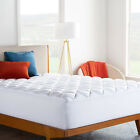 Cooling-Bamboo-Matress-Pad-Breathable-Down-Alternative-Ultra-Plush-Pillow-Top