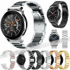 US Replacement Stainless Steel Link Strap Wrist Watch Band Bracelet 20mm / 22mm image
