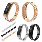 Stainless Steel Replacement Wrist Band Strap For Fitbit Alta & HR Tracker Watch