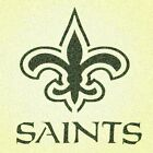 New Orleans Saints Stencil Mylar Mancave Sports Football Stencils $7.66 USD on eBay