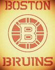 Boston Bruins Hockey Stencil Mylar Sport Stencils $9.18 USD on eBay