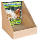 Chick-N-Nesting Box, Plywood, 11 x 12-3/4 x 12-1/2-In.