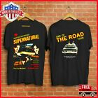 FREESHIP Supernatural End Of The Road Tour T-Shirt Black Unisex For Fan S-6XL image