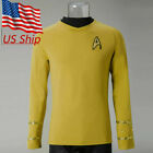 Star Trek TOS The Original Series Captain Kirk Shirt Uniform Cosplay Costume New on eBay