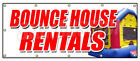 BOUNCE HOUSE RENTALS BANNER SIGN party photobooth inflatable moonwalk