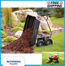 More images of Gorilla Utility Dump Carts Poly Garden Yard Wheel Barrow Wagon Wheels 600 lbs