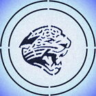 DOUBLE CIRLCE JACKSONVILLE JAGUARS STENCIL SPORT FOOTBALL STENCILS $9.18 USD on eBay