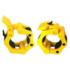 2PCS 2INCH LOCK BUCKLE OLYMPIC BARBELL CLAMPS WEIGHTLIFTING ROD ACCESSORIES AWAR
