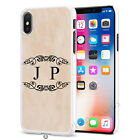 Marbel Wood Any Name Personalised Mobile Case Cover for Apple iPhone Models S054