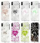 New Marble Any Name Personalised Mobile Case Cover for Apple iPhone Models S065
