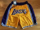 Los Angeles Lakers Lebron James Yellow Just Don Summer League Basketball Shorts on eBay