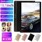 """10.1"""" Wifi/4g-lte Hd Pc Tablet Android 8.0 Bluetooth 8+128g Sim Gps Dual Camera"""