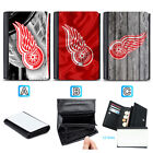 Detroit Red Wings Leather Women Wallet Purse Card ID Coin Holder $14.99 USD on eBay