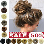 real thick curly messy bun hair piece scrunchie 100 natural hair extensions 89i