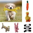 Pet Braided Rope Toy Dog Cat Bite Chew Interactive Teeth HY