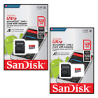 SanDisk Ultra Micro SD 128GB Class 10 A1 SDXC UHS-I SDHC Memory SD Card 100MB/s