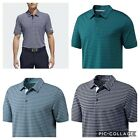 2018 Adidas Ultimate 365 2 Color Striped Polo Golf Shirt Multiple Color/Sizes