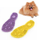 LD_ Pet Dog Slipper Shape Molar Bite-resistant Training Interactive Chew Toy B