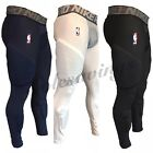 Nike NBA Pro Hyperstrong Padded Basketball Compression Pants Blue-White-Black on eBay