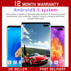 "4g S10+ 6.5"" Full Screen Android 9.1 Smartphone Face Id Mobile Phone 6g+128g Uk"