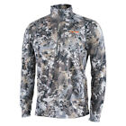 Sitka GearCore Midweight Zip-T WHITETAIL : ELEVATED II (10068)Base Layers - 177867