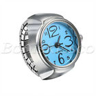 Finger Ring Watches Elastic Band Quartz Analog Watch Cute Gift For Men Women Kid