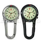 Clip On Carabiner Luminous FOB Digital Sports Watches For Doctors Nurses Hikers