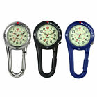 Clip On Carabiner Luminous FOB Digital Sports Watches For Doctors Nurses Hikers image