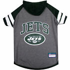 Pets First New York Jets Hoodie Tee Shirt For Dogs $19.59 USD on eBay