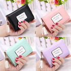 US Girl Lady Leather Tassel Wallet Clutch Card Holder Purse Mini Handbag Gift image