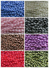 50 - 200 Imitation Pearl Rice Beads 6x12mm. 6 Colours. Jewellery&Craft Making