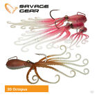 Savage Gear 3D Octopus Lures - Cod Bass Snapper Preadator Sea Fishing Tackle