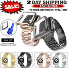 Stainless Steel Band Link Bracelet Strap For iWatch Apple Watch Series 5 4 3 2 1 image