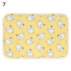 Cotton Nappy Urine Pad Diaper Changing Cover Absorbent Cloth Mat Towel
