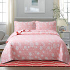 Soul & Lane Petal Perfection Lightweight Printed Quilt Set with Shams image