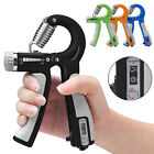 Hand Grip Gripper Strengthener Finger Wrist Strength Power Exerciser Trainer Gym image