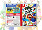 Super Mario Party Replacement Case: Double-Sided Premium Insert Nintendo Switch