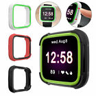 For Fitbit Versa/Lite Ultra Thin Protector Case TPU Shell Cover Silicone Frame