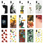 For Xiaomi Mi Play Mix3 Max3 F1 6X 5X Painted TPU Soft Silicone Slim Case Cover